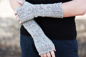 Frosted Vine Mitts