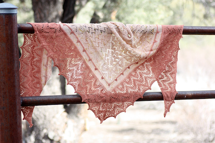 April Song Shawl