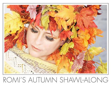autumn shawl-along